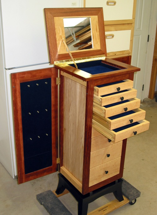 Armoire Plans Bright Shadow, Jewelry Armoire Design Plans