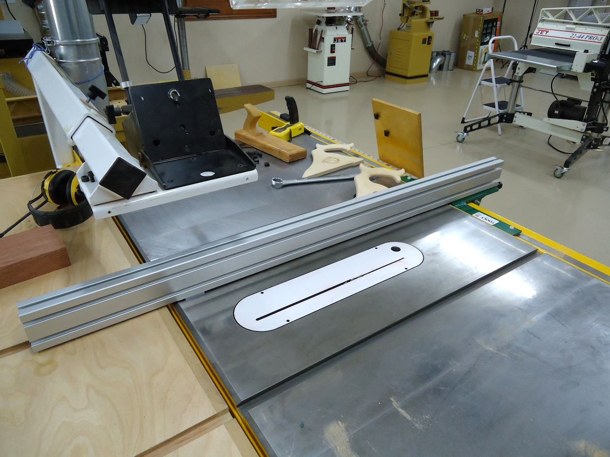 Extruded aluminum extruded aluminum table saw fence Table saw fence