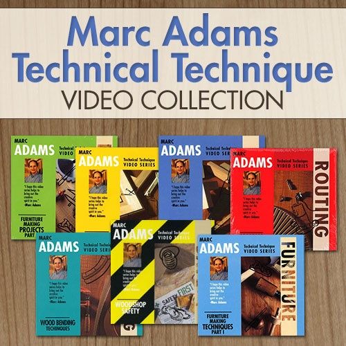 Marc Adams Video Collection The Wood Whisperer